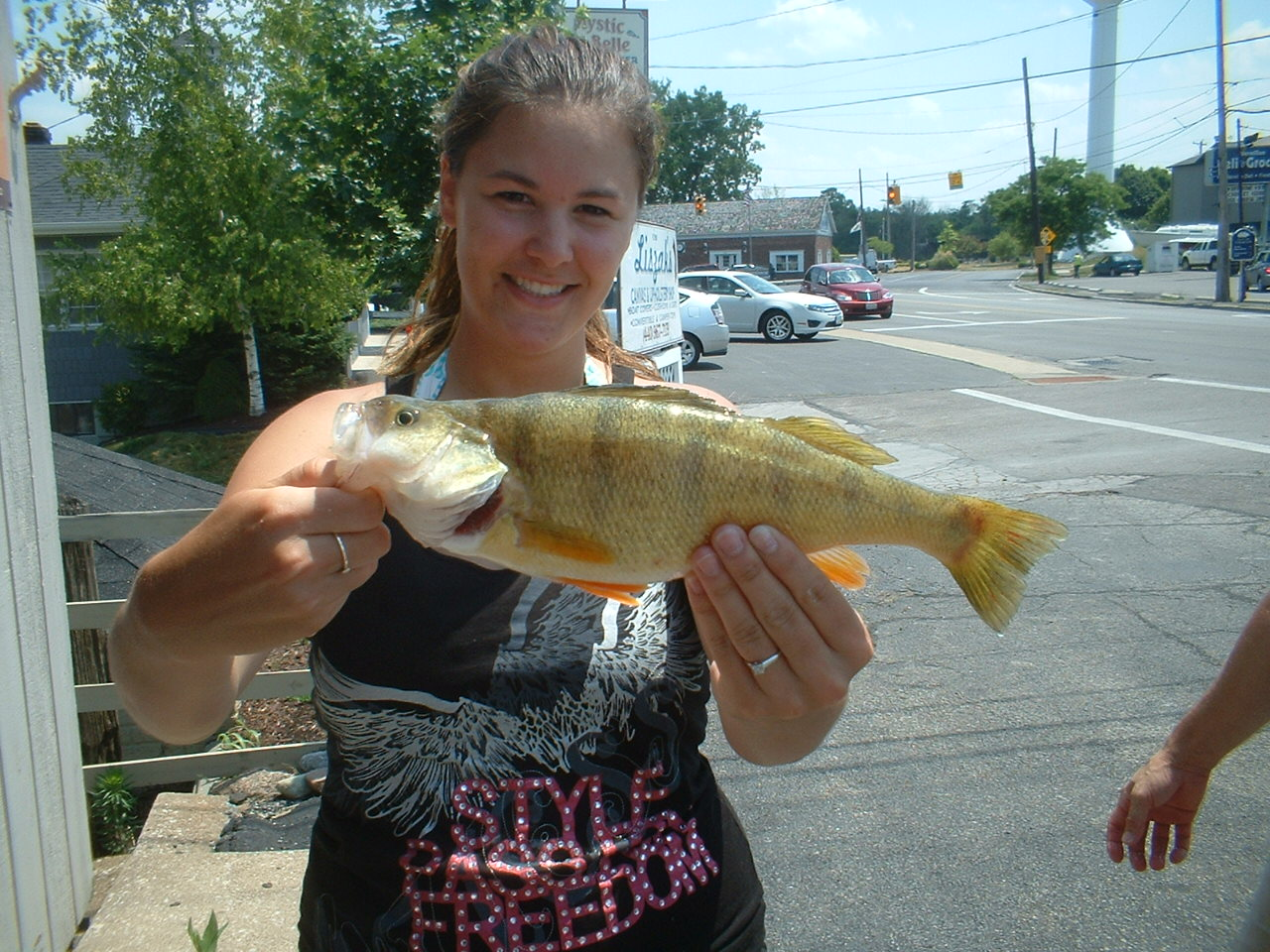 Fishing report for lake erie for Lake erie perch fishing report central basin